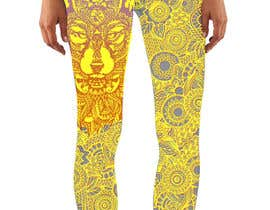 #16 untuk Create a Wolf design for a legging company oleh Christina850