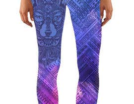 #37 for Create a Wolf design for a legging company af Christina850