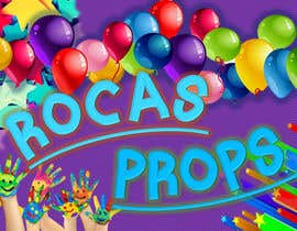 #3 for Design a Logo for Rocas Props af IvensLeos