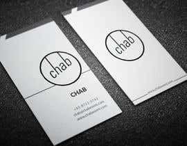 #23 untuk Design some AWESOME Business Cards for Chab Pte Ltd oleh Fgny85