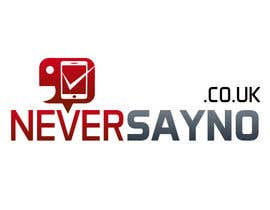 nº 8 pour Design a Logo for NeverSayNo.co.uk a Mobile Phone Contract/Airtime website par thimsbell