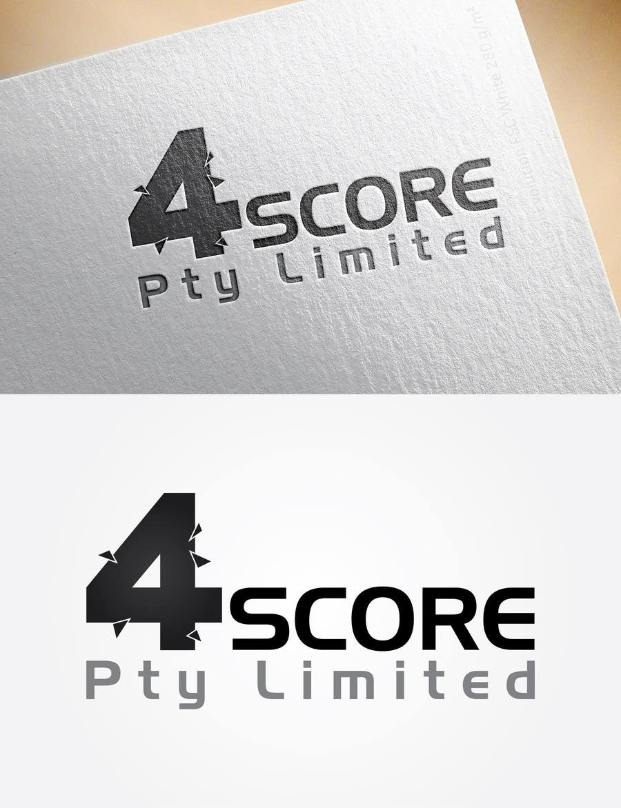 Penyertaan Peraduan #5 untuk Design a logo for 4Score