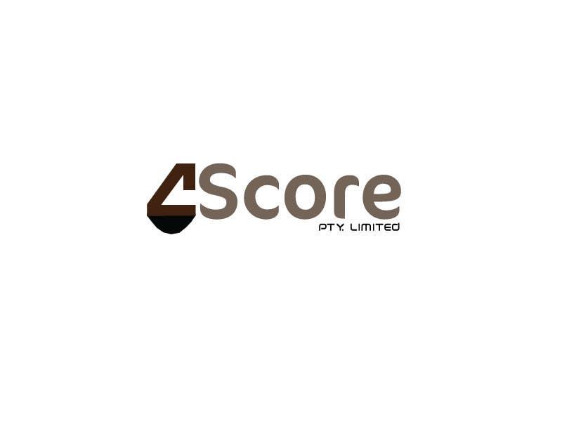 Penyertaan Peraduan #2 untuk Design a logo for 4Score