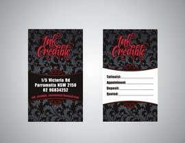 Nro 4 kilpailuun Inkcredible Business Cards käyttäjältä stusha111