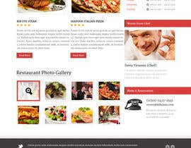 nº 7 pour Restaurant Website Needed par gerardway