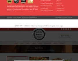 #11 cho Restaurant Website Needed bởi gerardway