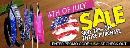 Nro 13 kilpailuun 4th of July Sale käyttäjältä sameer6292