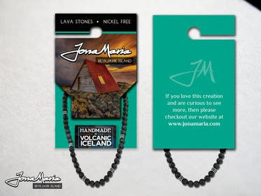 #3 for Create Packaging Designs for handmade lava jewelery af chubbycreations