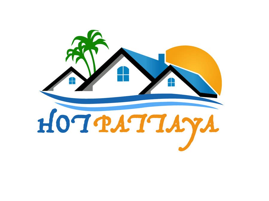 Proposition n°118 du concours Design a Logo for REAL ESTATE company named: HOTPATTAYA