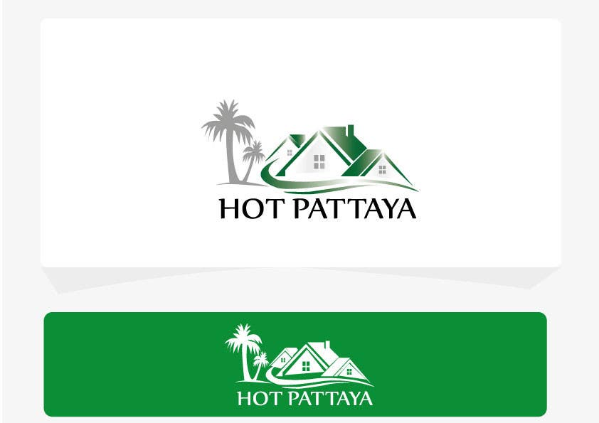 Proposition n°133 du concours Design a Logo for REAL ESTATE company named: HOTPATTAYA
