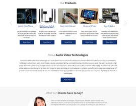 #6 untuk Build a Website for AudioVideoTechnologiesLLC.com oleh designcreativ