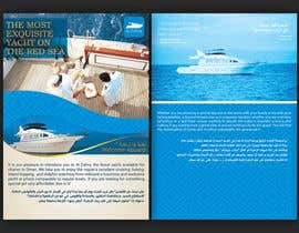#23 for Design a Flyer for luxury yacht charter af alromisa