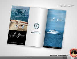 #10 for Design a Flyer for luxury yacht charter af KilaiRivera