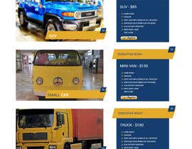 #16 cho Design a Website and Logo  for CAR WASH Detailing bởi zaxsol