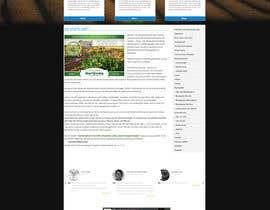 #6 untuk Desert-Greening.com contest! Design our Homepage! oleh RahidSaiyad