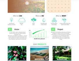 #10 untuk Desert-Greening.com contest! Design our Homepage! oleh pilipenko2001