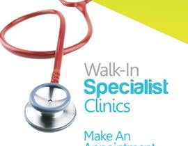 Oigojeff tarafından Design a Banner Roll Up for a Walk-in, appointment free specialist clinics at a hospital için no 12