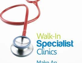 Oigojeff tarafından Design a Banner Roll Up for a Walk-in, appointment free specialist clinics at a hospital için no 13