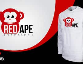 taganherbord tarafından Design a Logo + Business Card for Red Ape Solutions! için no 111