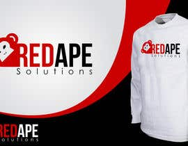 taganherbord tarafından Design a Logo + Business Card for Red Ape Solutions! için no 198