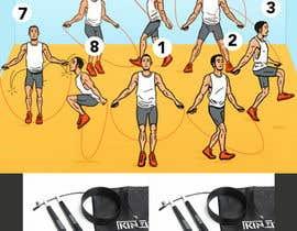 Nro 40 kilpailuun I need an infographic for a jump rope käyttäjältä apeterpan52