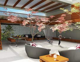 #37 for Open terrace design by vlangaricas