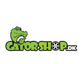 #88 cho Design et Logo for Gatorshop.dk bởi painpacker