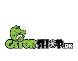 #89 untuk Design et Logo for Gatorshop.dk oleh painpacker