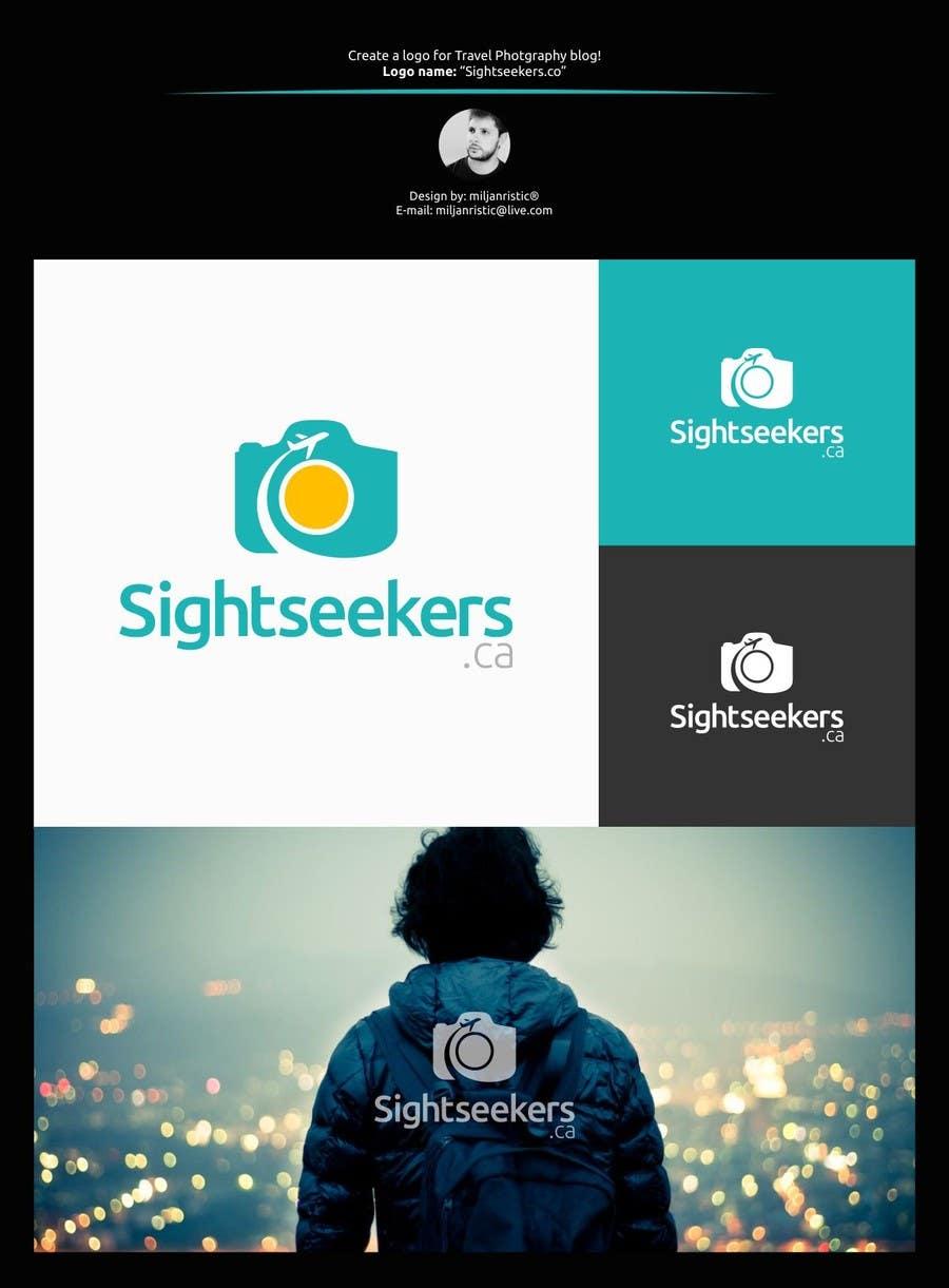 Penyertaan Peraduan #47 untuk Design a Logo for Travel Photography Blog