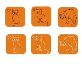#8 untuk Design 3 Cat Icons oleh Millia91