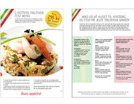 #24 untuk Take away menu for italian restaurant oleh holecreative