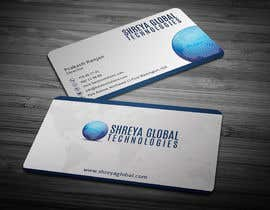 #41 untuk Design some Business Cards for Shreya Global Technologies oleh anikush