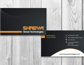 #33 untuk Design some Business Cards for Shreya Global Technologies oleh sami24x7