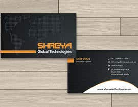 #34 untuk Design some Business Cards for Shreya Global Technologies oleh sami24x7