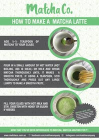 #19 for Design TWO how-to flyers for making japanese tea af xpertsart