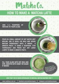 Nro 19 kilpailuun Design TWO how-to flyers for making japanese tea käyttäjältä xpertsart