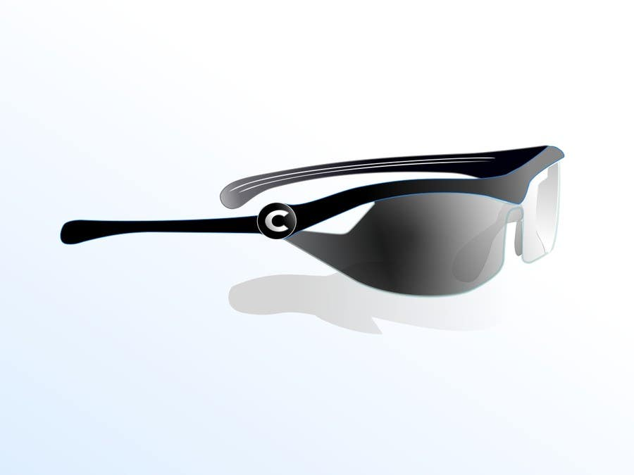 Konkurrenceindlæg #7 for Design some modern,very lightweight sports sunglasses (cycling, triathlon, running)