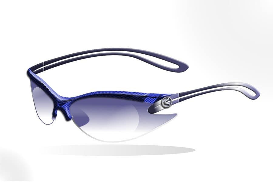 Konkurrenceindlæg #14 for Design some modern,very lightweight sports sunglasses (cycling, triathlon, running)