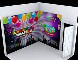 edwarnugraha tarafından Design 3D wall paper for kids party room için no 8