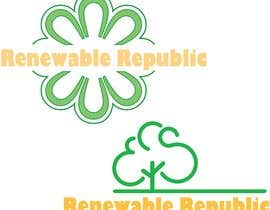 #37 pёr Logo Design for The Renewable Republic nga skynetweb