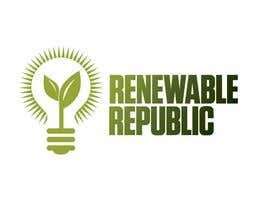 #67 para Logo Design for The Renewable Republic de jonWilliams74