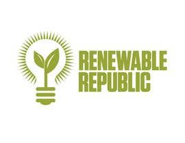 #68 para Logo Design for The Renewable Republic de jonWilliams74