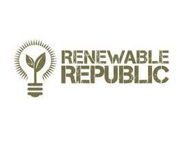 #72 para Logo Design for The Renewable Republic de jonWilliams74