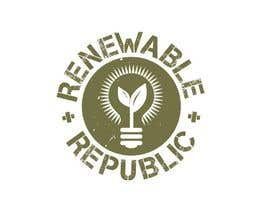 #51 pёr Logo Design for The Renewable Republic nga jonWilliams74