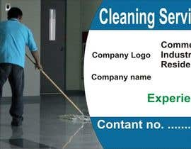 #26 for Business card - Cleaning company af ikshitkakkar