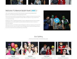 #22 for Design a Website Mockup for Memory Booth Company af zaxsol