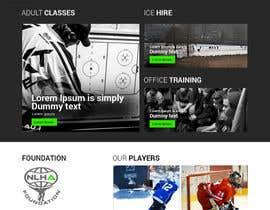 #18 cho Design a Website Mockup for NextLevelHockey bởi zaxsol