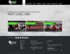 #9 for Design a Website Mockup for NextLevelHockey af geniedesignssl
