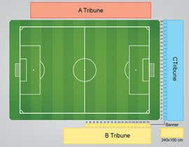#2 untuk Make a sells map for stadium oleh brissiaboyd
