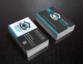 #125 untuk Design some Business Cards for Real Estate Relief oleh JewelBluedot